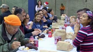 75th annual Joe Salem Thanksgiving feast