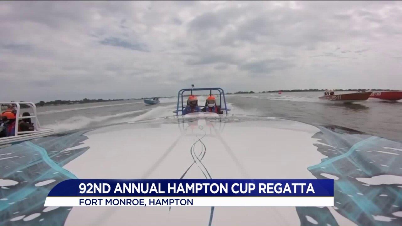92nd Annual Hampton Cup Regatta startsSaturday