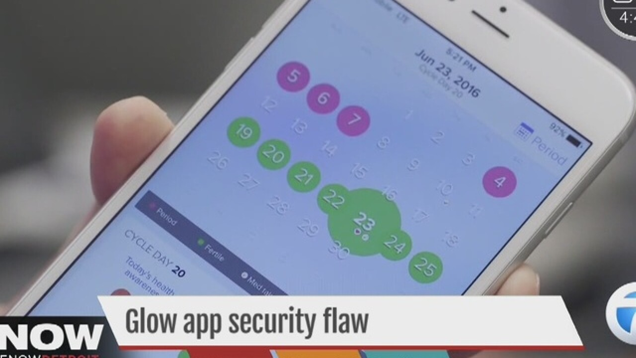 Security flaws in popular women's health app
