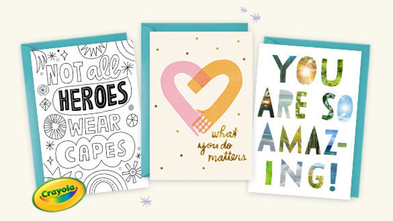 Want to thank an essential worker? Hallmark is offering free cards to those who want to say 'thanks'