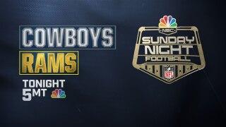 SNF Cowboys at Rams