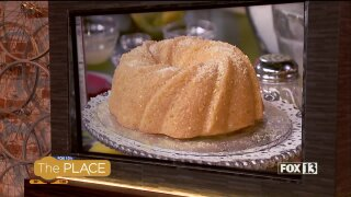 Light Buttermilk Lemon Bundt Cake