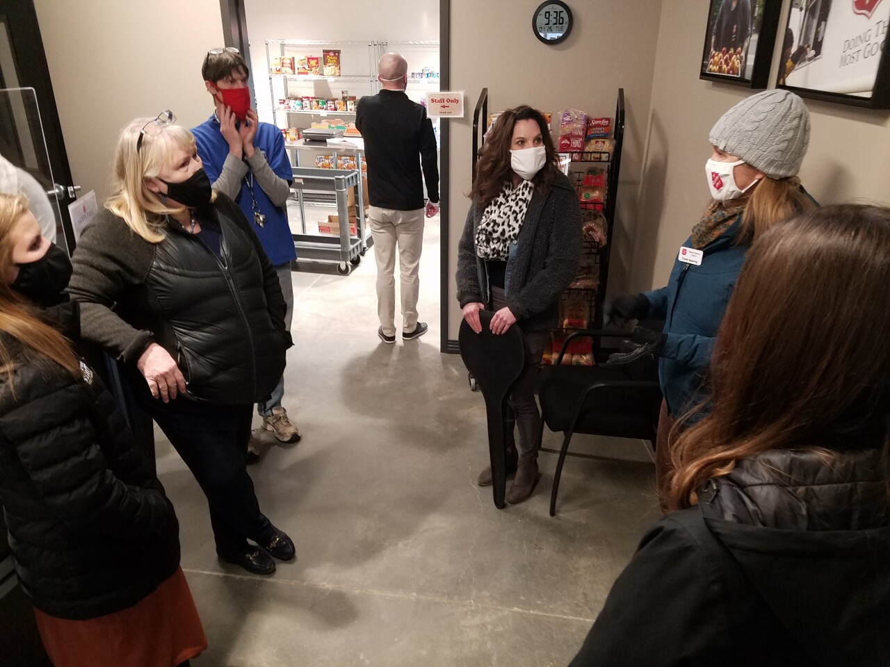 Helena Chamber tours new Salvation Army expantion