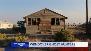 Uniquely Utah: Ghost Hunting in abandoned buildings at Wendover Airfield