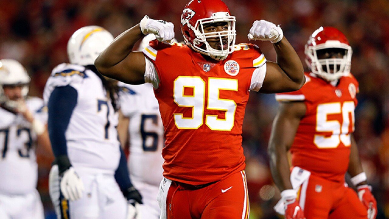 DE Chris Jones aims to take leadership role for Chiefs' defense