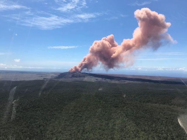 New Photos: Volcanic eruptions threaten Hawaii's Big Island