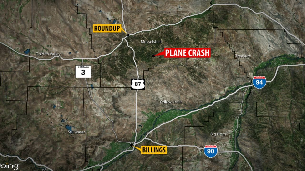 Plane crashes north of Billings