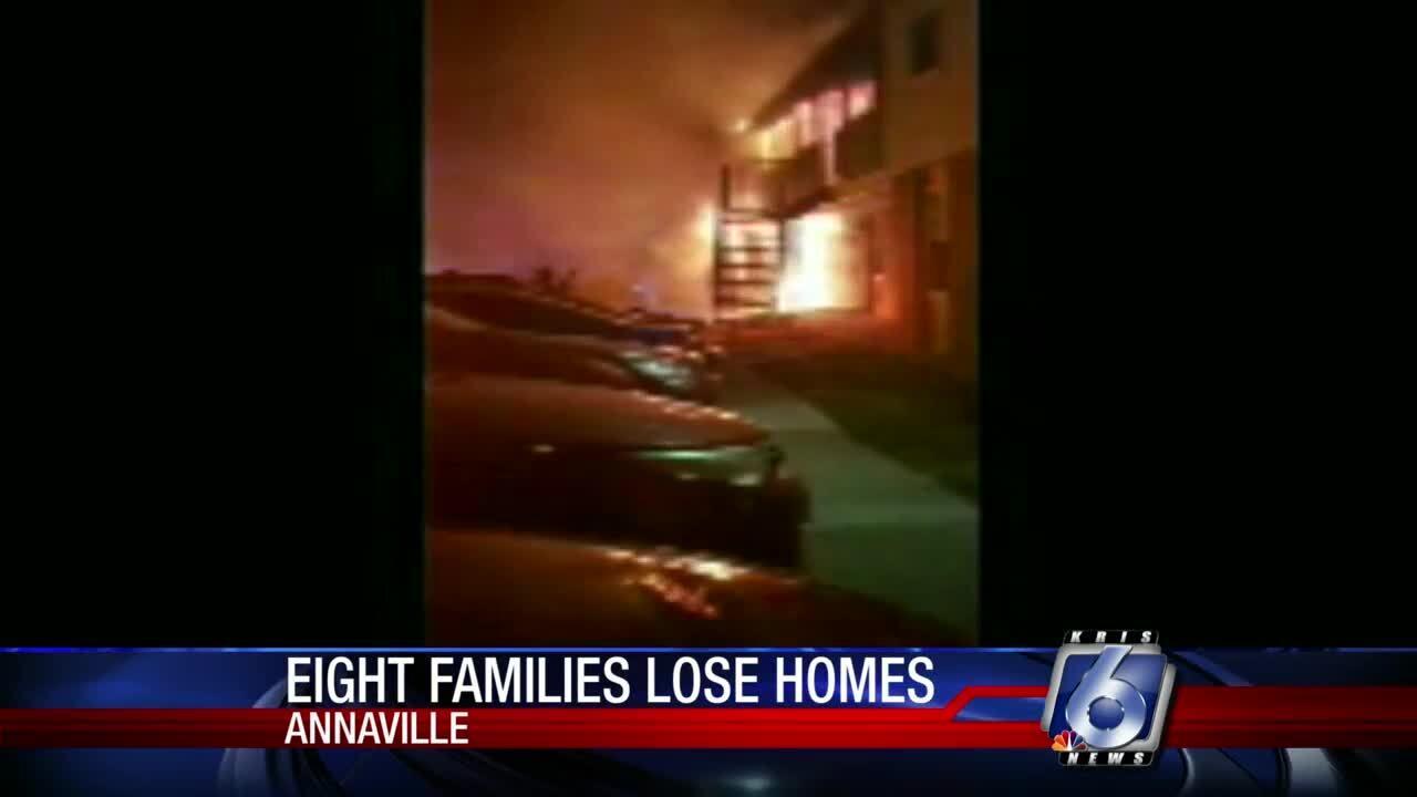 Annaville apartment fire