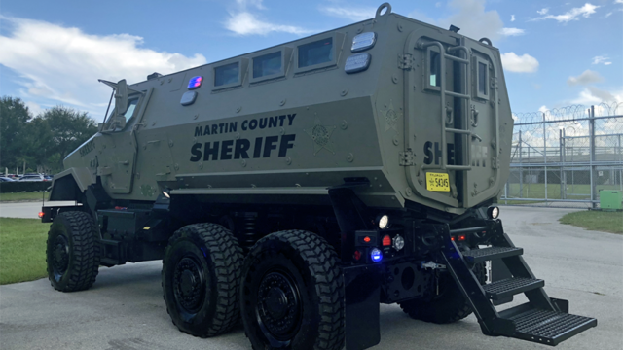 Martin County Sheriff says emergency response team ready to respond to Florence if asked