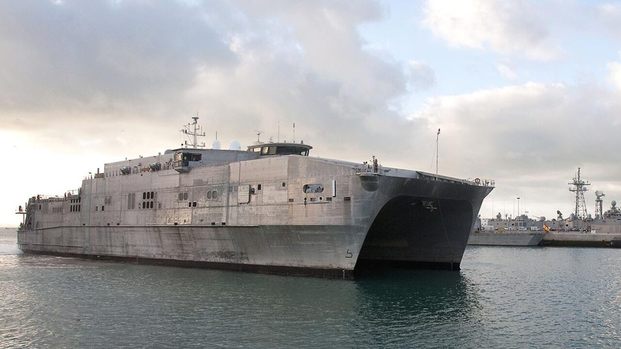 USNS Spearhead to deploy Wednesday