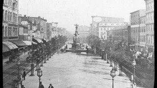 The Tyler Davidson Fountain at Fountain Square