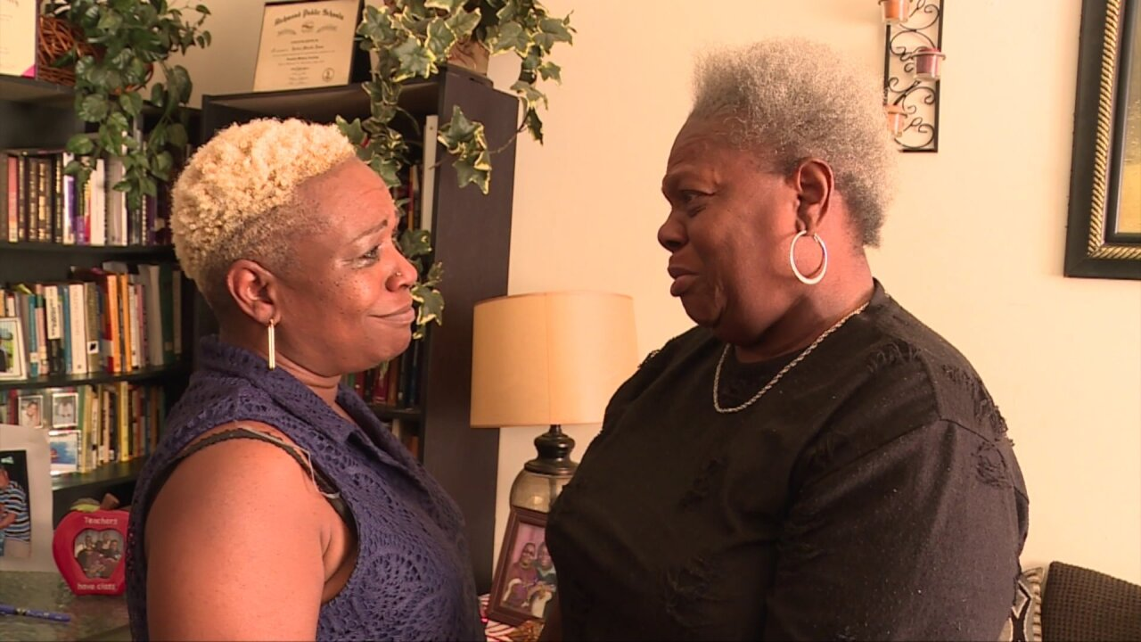 Richmond teacher reunites with her birth mother after 50-yearsearch