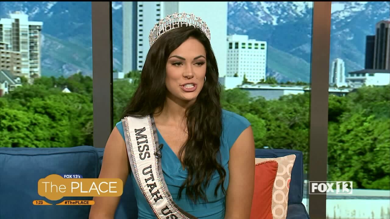 Miss Utah USA shares how she is gearing up for the big competition