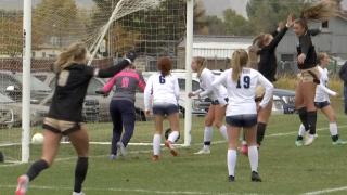 West Girls Soccer Celebration 21