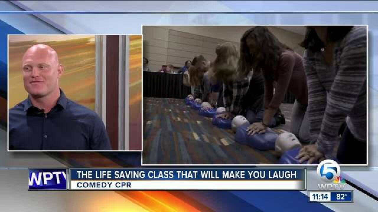 CPR class can make you laugh, save a life