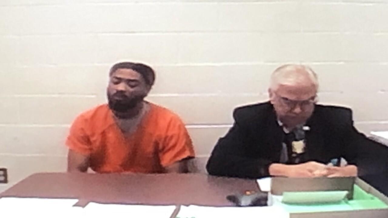Knee Wachee appears in court