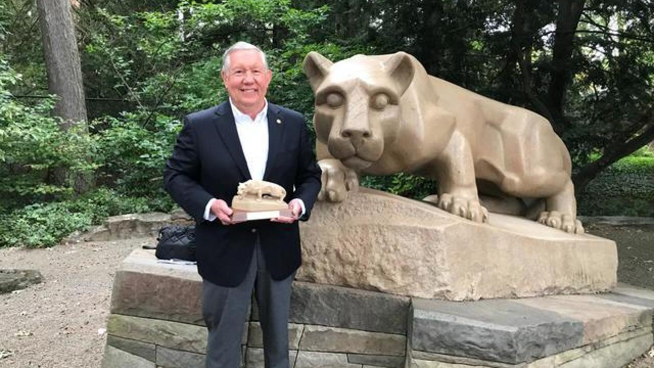 News 5 Cleveland Chief Investigator Ron Regan honored by Penn State