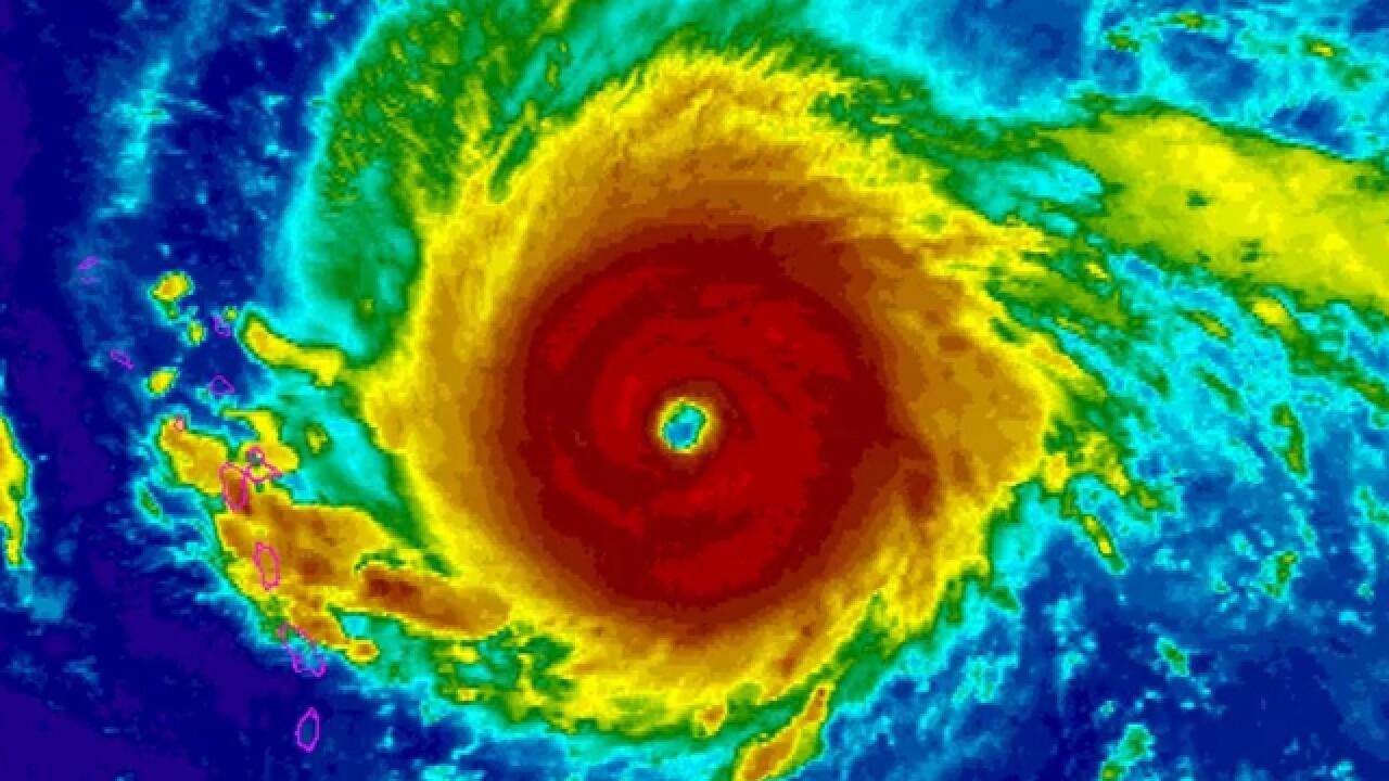 Category 5 Hurricane Irma barrels towards US