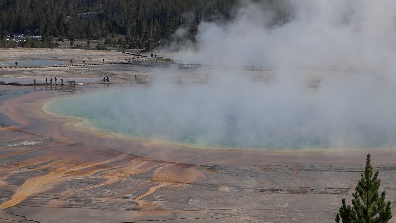 The Grand Prismatic Spring