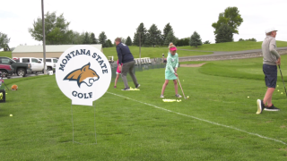 Montana State Bobcats hold 1st youth golf camp