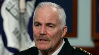 U.S. Capitol Police Chief J. Thomas Manger