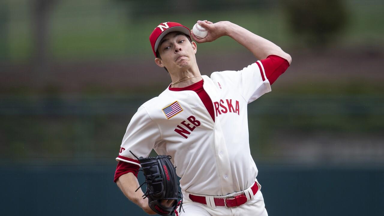 cade povich nebraska baseball