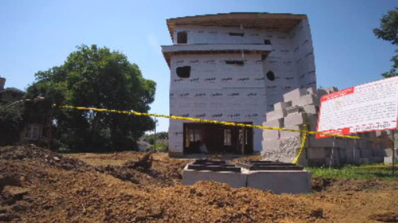 New home construction in Sylvan Park stirs controversy