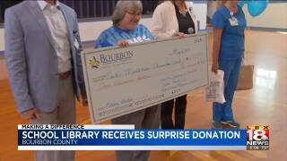 Making A Difference: School In Bourbon Co. Receives Surprise Donation