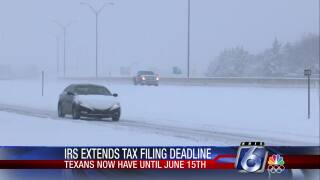 last week's storms lead to IRS tax filing deadline in Texas