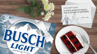 Busch is giving a year of beer to couples whose weddings were canceled due to coronavirus