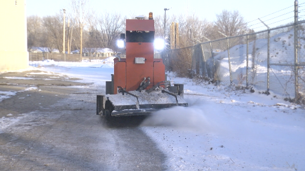 Longmont company creates SnoBot: Self-Driving Snow Removing Robot