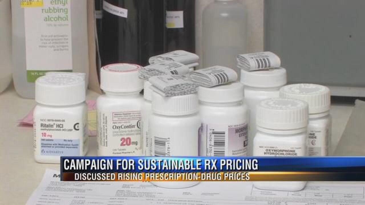 Local Health Professionals Unite to Find Solution to Rising Prescription Drug Costs