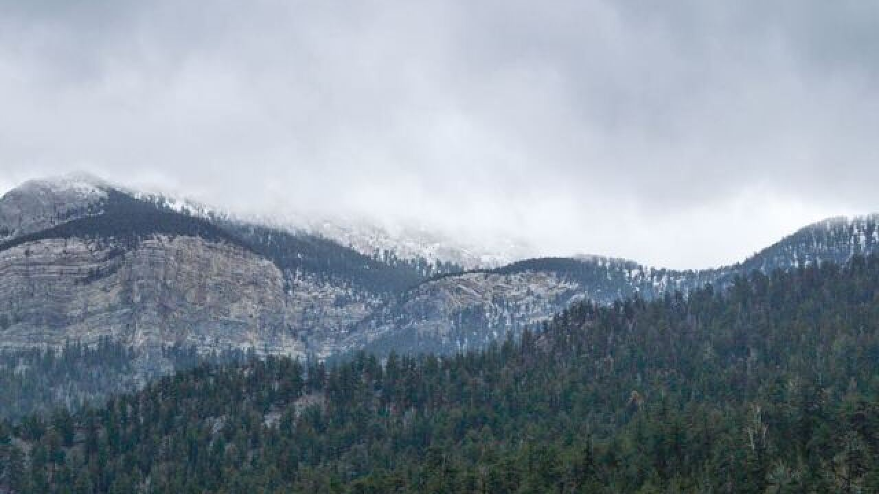 Rain Expected In Southern Nevada With Mountain Snow This Week