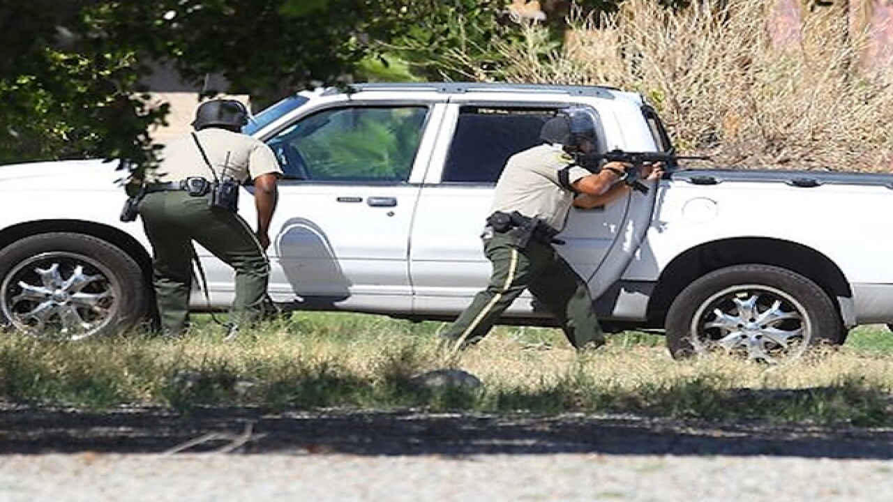 2 officers dead, 1 hurt in California shooting