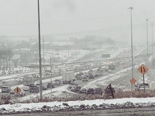 GALLERY: Snow blankets Kansas City metro cities
