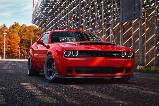 Photo Gallery Dodge Challenger Srt Demon Offers 840 Horsepower