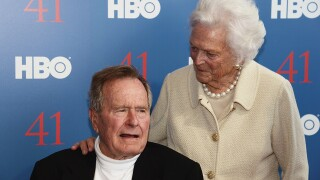 The 'storybook' 73-year marriage of George and Barbara Bush