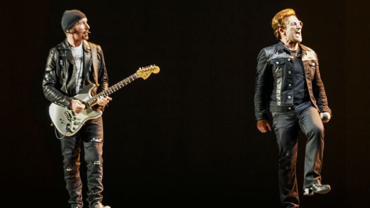 U2 playing at Lucas Oil Stadium in September; first Indy concert since 2001