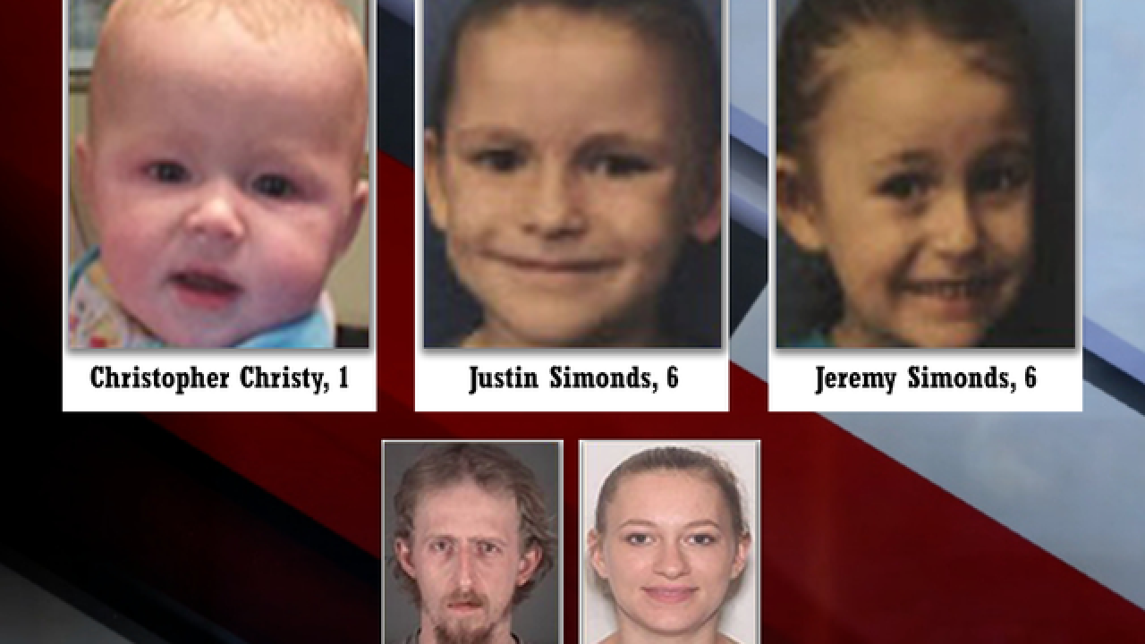 FL missing child alert issued for 3 children