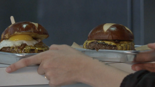 Burgers from Sid's Garage