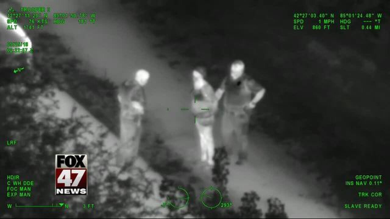 Police video shows swamp arrest