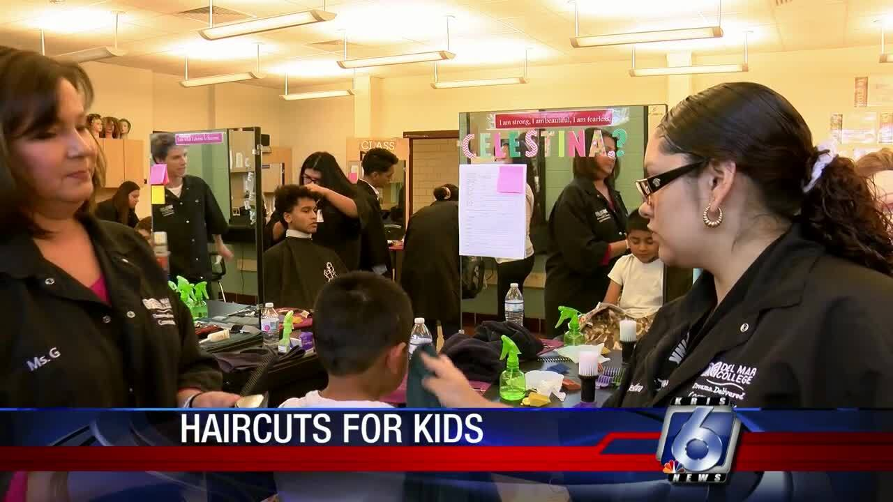 Del Mar College School of Cosmetology haircuts
