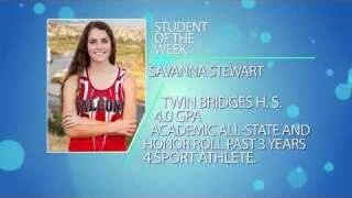 Student of the Week: Savanna Stewart