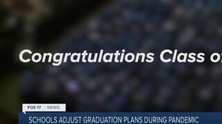 Colleges adjust graduation plans during pandemic