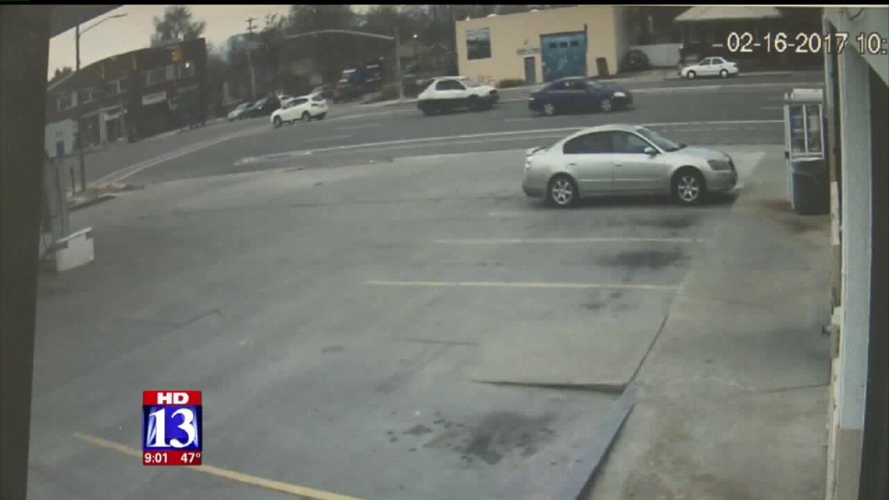 Surveillance video captures moments before fatal street racing crash inSLC