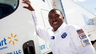 Photos: Walmart announces driver wage investment in Virginia, will raise salary to nearly$90,000