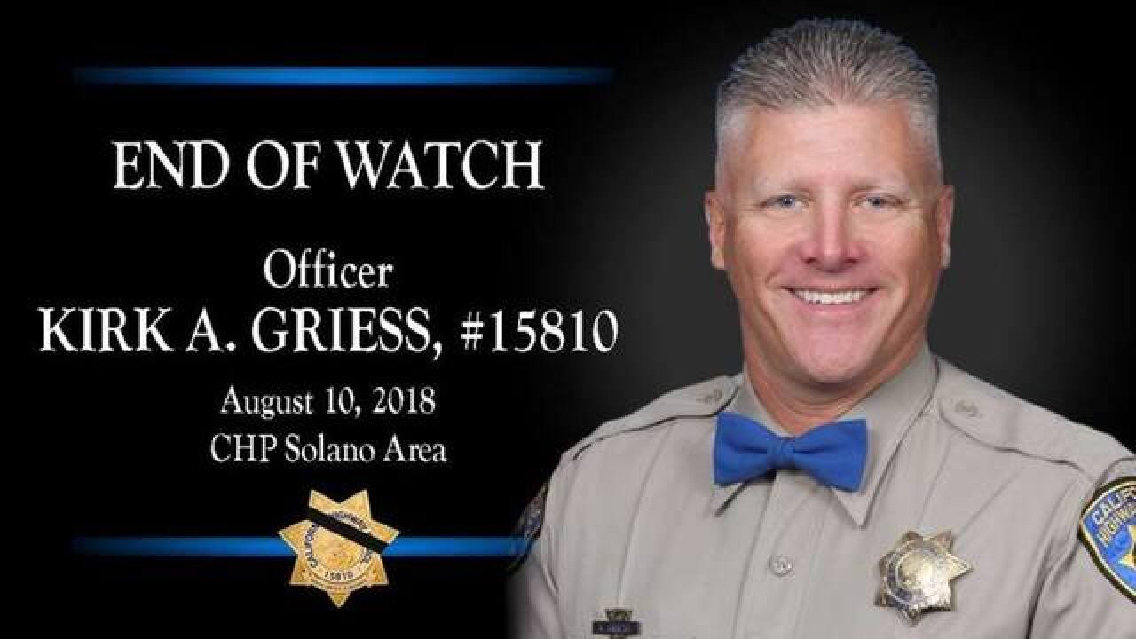 CAHP Credit Union establishes memorial fund for fallen CHP officer