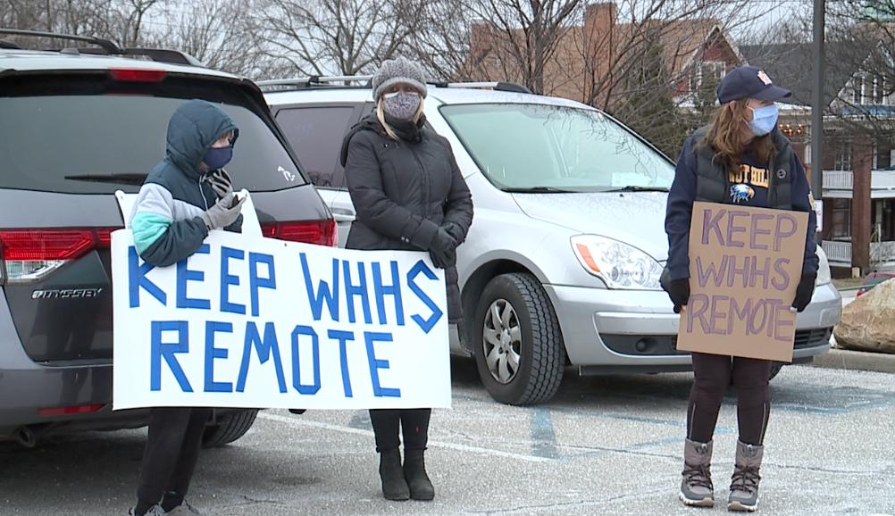 Parents CPS protest Walnut Hills.png