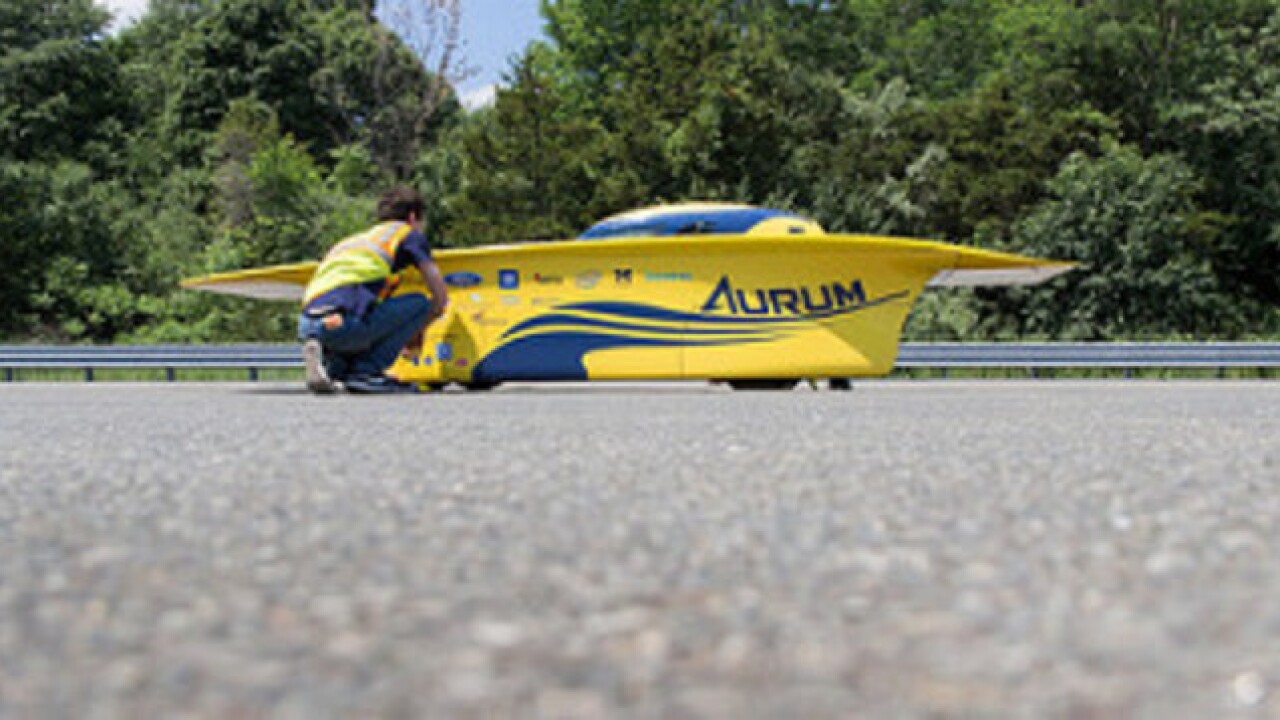 Reigning champs University of Michigan aims to defend title in 2016 American Solar Challenge