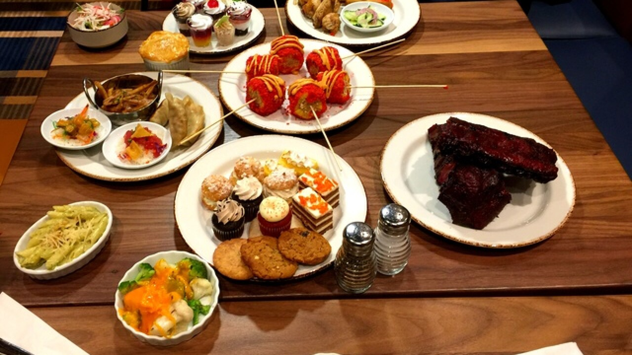 Celebrate National Buffet Day in Vegas